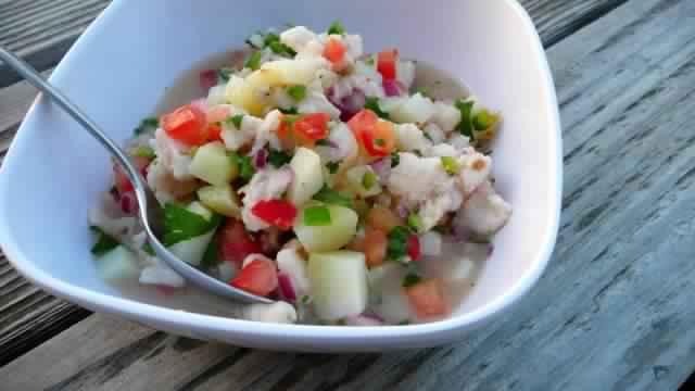 Comment faire mariner le poisson du ceviche péruvien ?