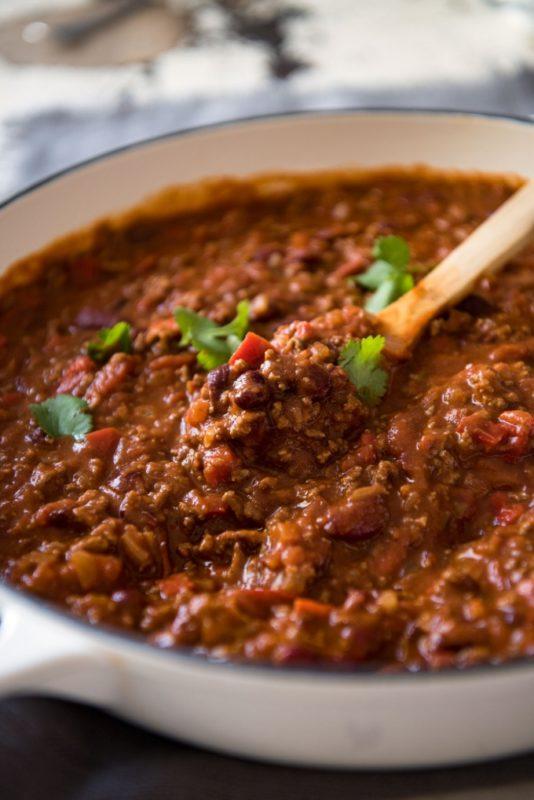 Comment préparer un bon chili con carne ?