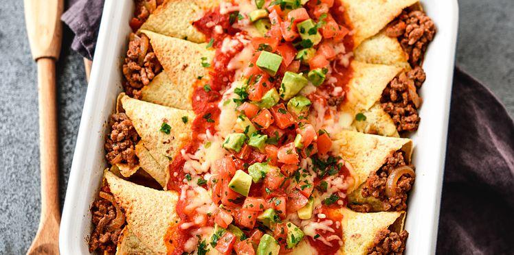 Quelle est la recette mexicaine des enchiladas ?