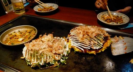 Quelle est la meilleure recette okonomiyaki: celle d'Osaka ou d'Hiroshima?