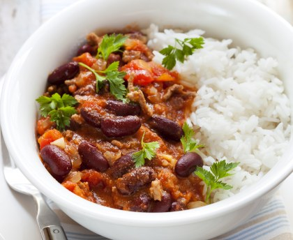 Comment accompagner son chili con carne ?