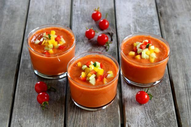 La meilleure recette de gaspacho épicé