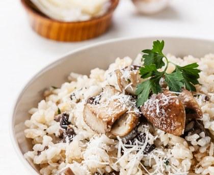Quels champignons cuisiner en risotto ?