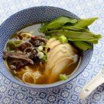 recette soupe poulet japonaise