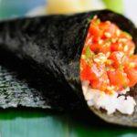 Recette temaki au saumon