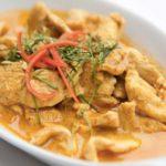 recette poulet curry thai
