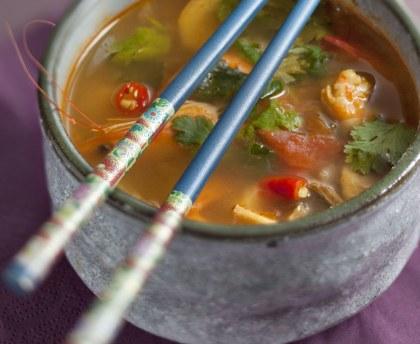 Les meilleures recettes de soupe thai