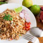recette khao pad kai poulet