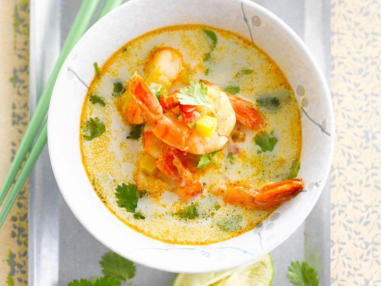 Quels ingrédients pour préparer une soupe thailandaise ?