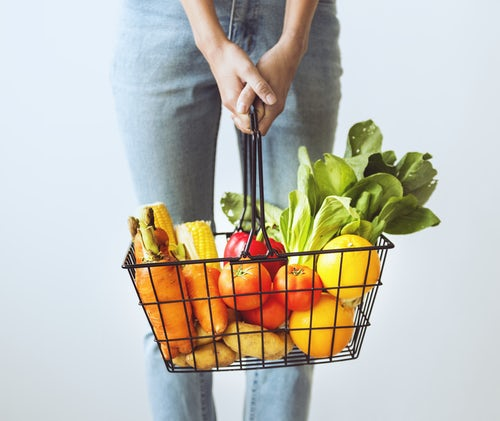 Bioxyn avis - panier de légumes