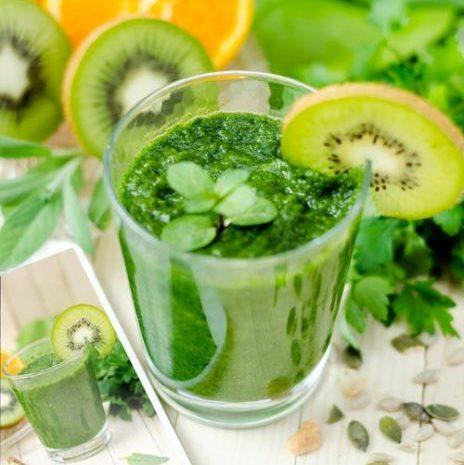 Smoothie vert - kiwi